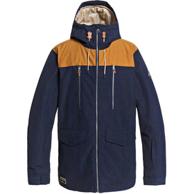 Quiksilver Fairbanks Snowboard Jas Heren, navy blazer